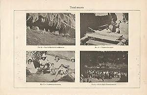 LAMINA ESPASA 6487: Escenas de los Tarahumara: Varios Autores