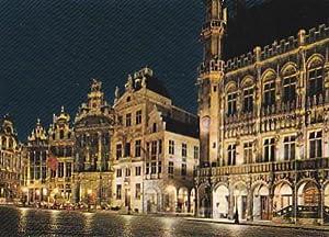 POSTAL B0085: Bruxelles Hotel de Ville l: Varios