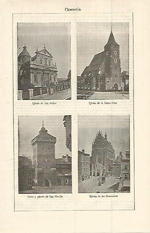 LAMINA ESPASA 15147: Iglesia de San Pedro: Varios