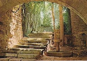 POSTAL B01197: Sant Benet de Bages. Escalera: Varios