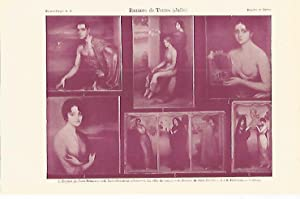 LAMINA ESPASA 16910: Retratos pintados por Julio: Varios