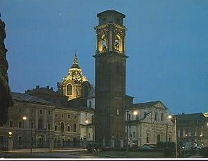 POSTAL B01435: Torino di Notte. Cattedrale di: Varios