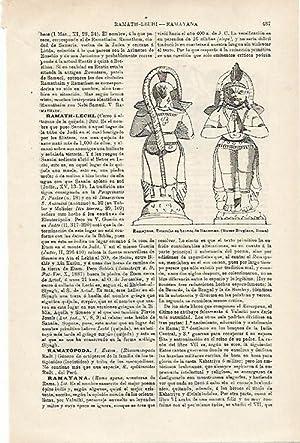 LAMINA ESPASA 15928: Ramayana: Varios