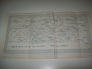 LAMINA ESPASA 1515: Mapa de Palesstina segun: Varios Autores