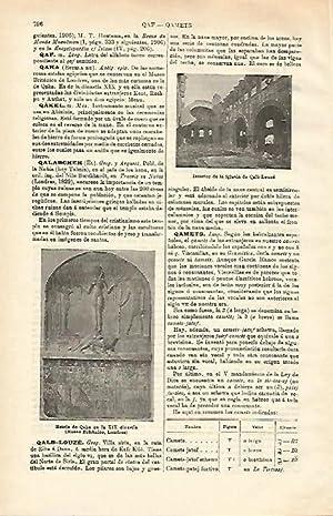 LAMINA ESPASA 20664: Iglesia de Qalb Louze: Varios