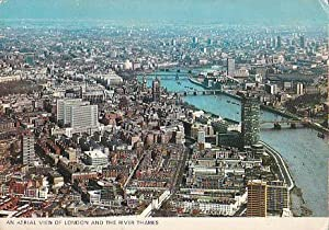 POSTAL B00423: An aerial view of London: Varios