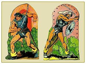 Postal / Postcard: El Boletin serie 8: Silvestre Moreno