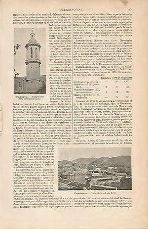 LAMINA ESPASA 7831: Colonia Sedo y Campanario: Varios