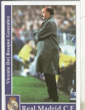 Cromos: Liga 2002: Real Madrid: Del Bosque