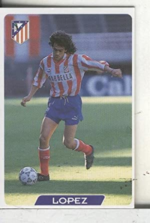 Cromos: Super Futbol liga 96: At.Madrid: Lopez
