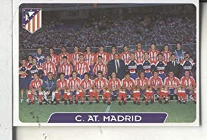 Cromos: Super Futbol liga 96: At.Madrid: foto plantilla
