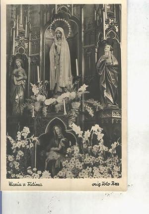 38cc53753a5 Postal 013981  Virgen de Fatima  Varios