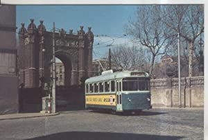 Postal 011836: Tranvia de Barcelona en Salon: Varios