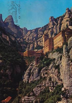 POSTAL 58030: Montserrat Barcelona Monasterio y funiculares: Varios