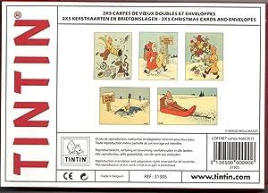 Cofre oficial Tintin de 2x5 postales de: Varios