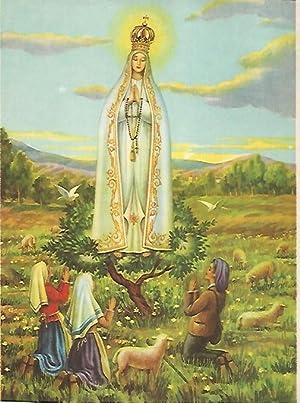51e1d4363d2 LAMINA 13059  La Virgen de Fatima  Varios