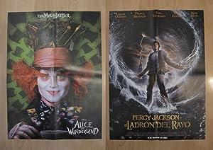 Poster doble cine: Perrcy Jackson y el: Varios