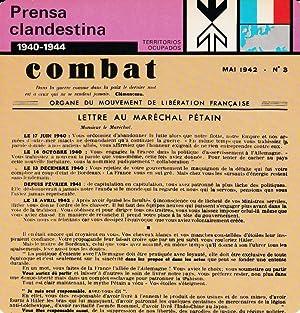 FICHA TERRITORIOS OCUPADOS: PRENSA CLANDESTINA. 1940-1944: Varios