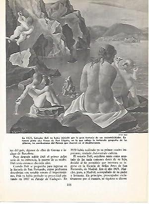 LAMINA 16147: La Venus de Port Lligat,: Varios
