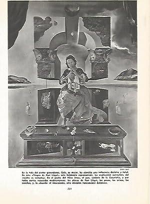 LAMINA 16150: Virgen de Port Lligat, por: Varios