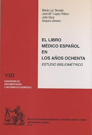 El libro médico español en los años: TERRADA, María Luz;