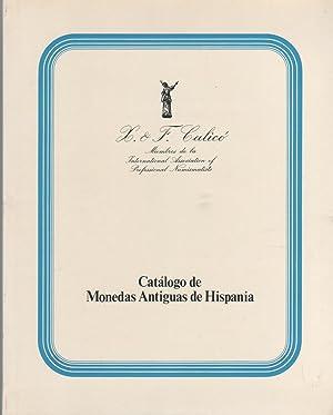 Catálogo de monedas antiguas de Hispania. Subasta: X & F.