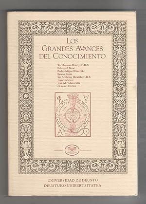 LOS GRANDES AVANCES DEL CONOCIMIENTO.: BONDY, SIR HERMAN,