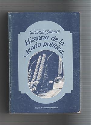 Historia de la teoría política.: SABINE, George H.: