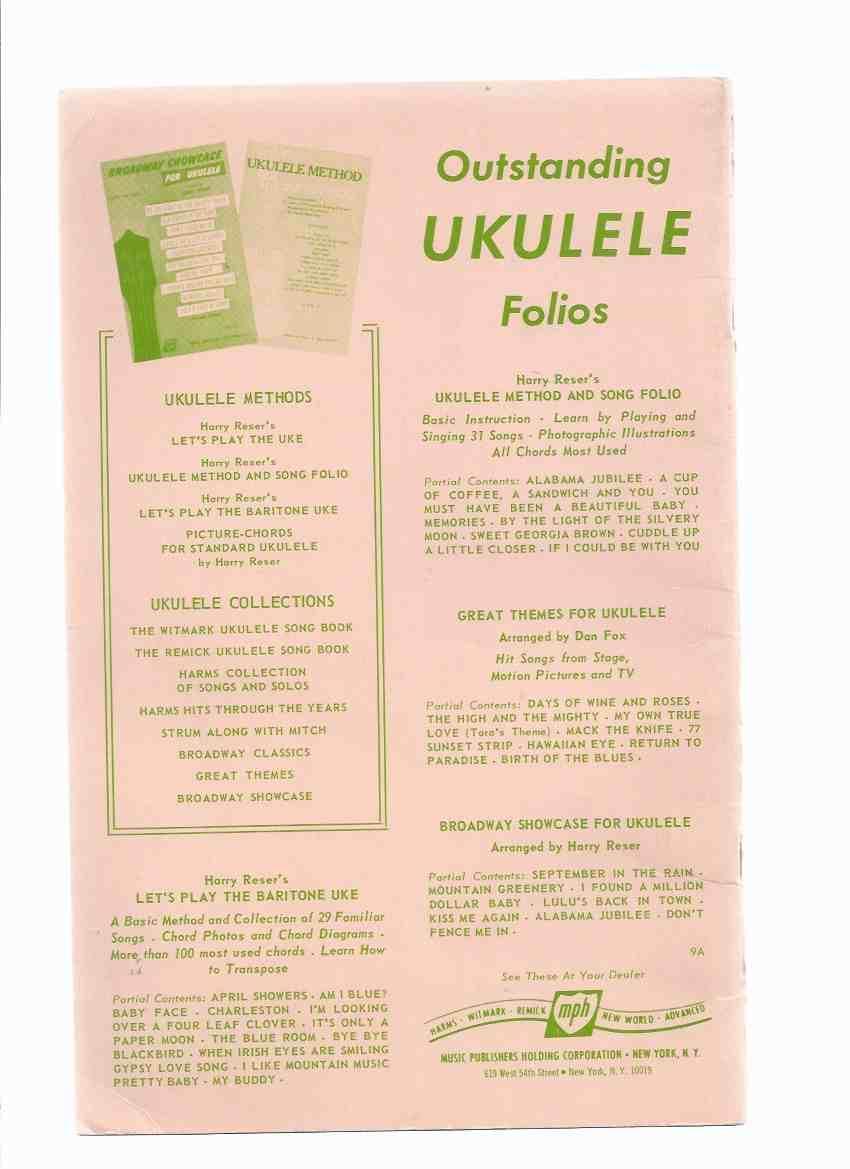 Folk Songs of Today for UKULELE ( Standard