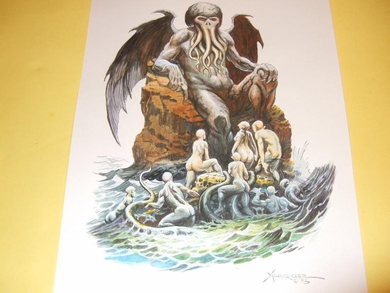 Original Art / Artwork of Cthulhu Rising