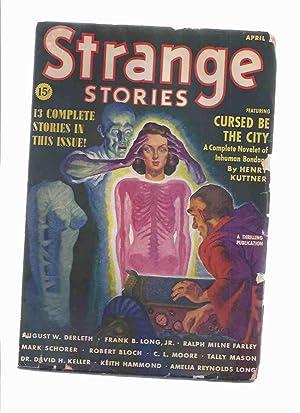 Strange Stories Pulp magazine, Volume 1, #: Bloch, Robert; august