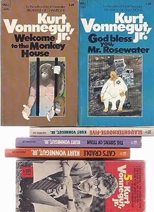 5 By Vonnegut: Slaughterhouse Five ---with The: Vonnegut, Kurt (