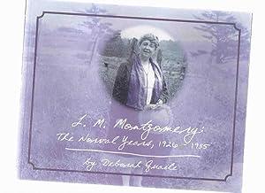 L M Montgomery: The Norval Years, 1926: Quaile, Deborah (