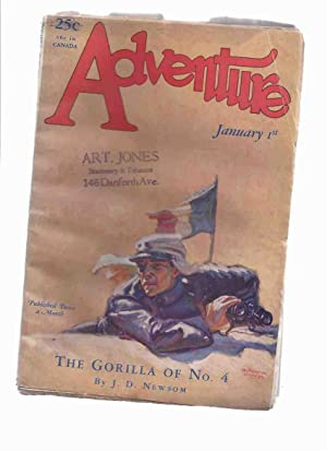 Adventure, January 1st, 1927 - Volume LXV,: Newsom, J D;