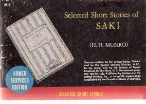 Selected short Stories of Saki ( Armed: Saki ( H