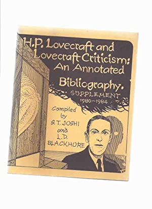 H P Lovecraft and Lovecraft Criticism: An: Joshi , S