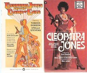 Cleopatra Jones ---with Cleopatra Jones and the: Goulart, Ron (signed(aka