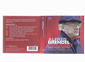 SCHUBERT: Alfred Brendel Piano Works, 1822 -: No Author (