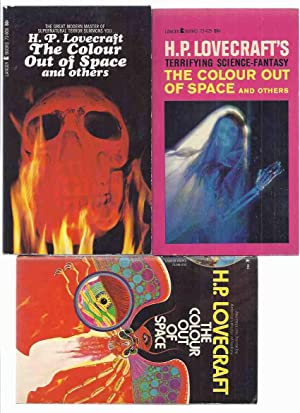 The Colour Out of Space -by H P Lovecraft ( Three Lancer Variants / Editions )(Picture in the Hou...