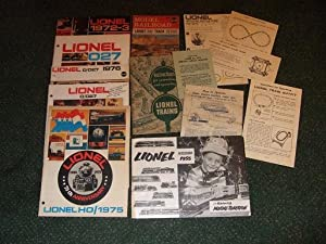 LIONEL TRAINS Ephemera and Pamphlets and Catalogues -14 Items (includes: Model Railroad Layout an...