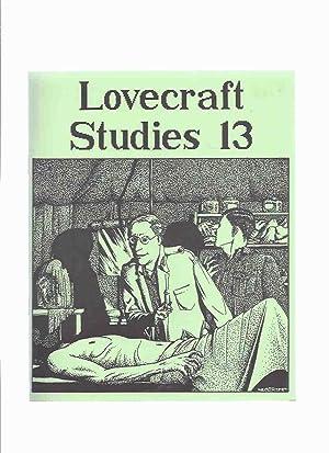Necronomicon Press: Lovecraft Studies 13, Vol. 5: Joshi, S T