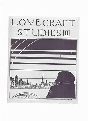 Necronomicon Press: Lovecraft Studies 11, Vol. 4: Joshi, S T