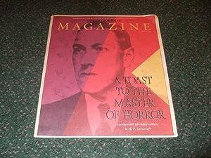 The Providence Sunday Journal Magazine: A Toast: Lovecraft, H P
