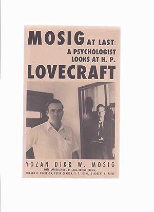 MOSIG at Last: A Psychologist Looks at: Mosig, Yozan Dirk
