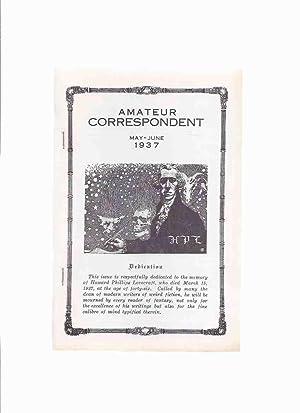Amateur Correspondent, May - June 1937 (: H P [