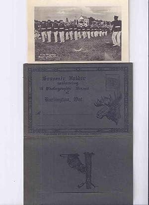 Souvenir Folder Containing 16 Photographic Views of: No Author /