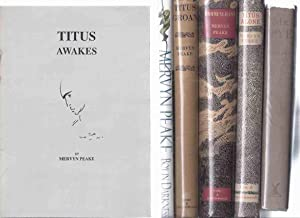 SIX VOLUMES: The Gormenghast Trilogy - Titus: Peake, Mervyn (one