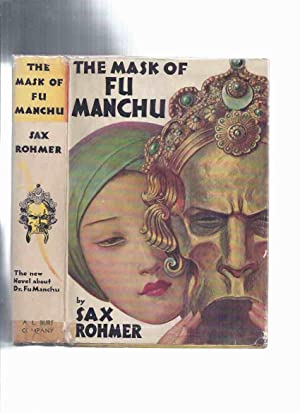 The Mask of Fu Manchu -by Sax: Rohmer, Sax (signed
