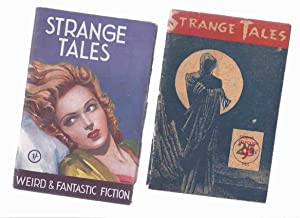 Strange Tales Issue # 1, 2 -TWO: Gillings, Walter Herbert