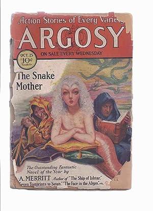 Argosy Weekly Magazine ( Pulp ), October: Argosy Pulp Magazine;